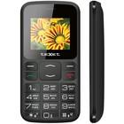 """Сотовый телефон Texet TM-B208 2,4"""", microSD, 2 sim, чёрный"""