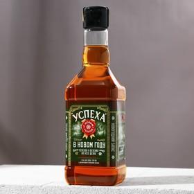 """Гель для душа виски 500 мл """"Успеха в новом году"""""""