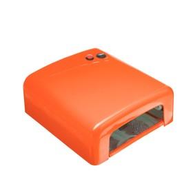 Лампа для гель лака Luxury, UV, 36 Вт, таймер 120 сек, оранжевая