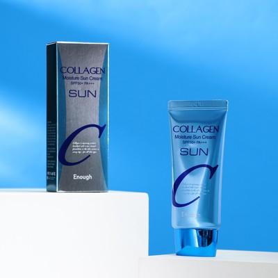 Увлажняющий солнцезащитный крем с коллагеном ENOUGH Collagen Moisture Sun Cream SPF50+ PA+++, 50 мл - Фото 1