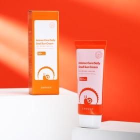 Солнцезащитный крем с муцином улитки ENOUGH Intense Care Daily Snail Sun Cream, 70 мл