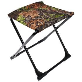 Стул походный с пластиковыми уголками ПС+, 37,5 х 30 х 38,5 см, дубовые листья Ош