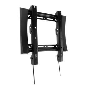 """Кронштейн VOBIX VX-4270B, для ТВ, фиксированный, 17-42"""", 30 мм от стены, черный"""