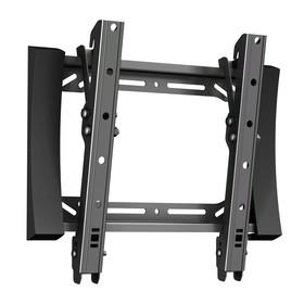 """Кронштейн VOBIX VX-4271B, для ТВ, наклонный, 17-42"""", 30 мм от стены, черный"""