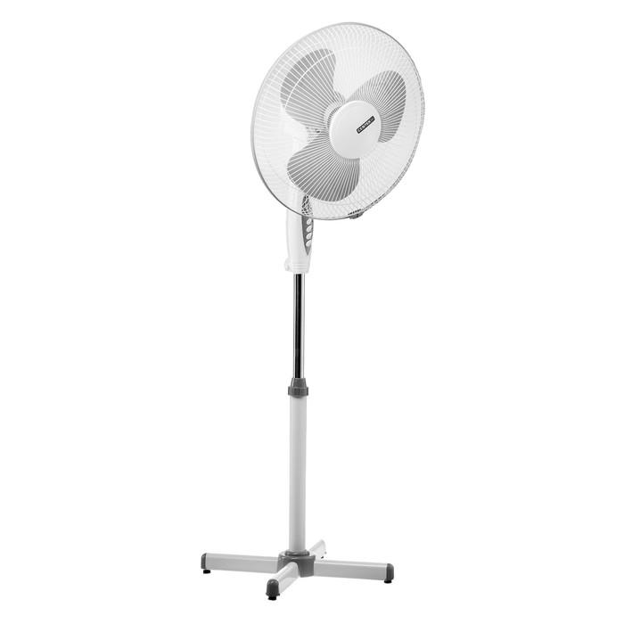 Вентилятор Centek CT-5021 Gray, 40 Вт, 43 см, 3 скорости, пульт ДУ, серый