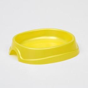 Миска №1 'Нулевка' 0,2 л, 13,5 х 12,5 х 3 см, желтый перламутр, Ош