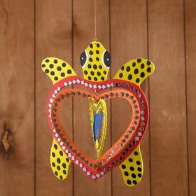Сувенир подвесной 'Черепашка' МДФ 25х25х0,5 см Ош