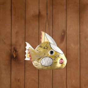 Сувенир из кокоса 'Рыбка' подвесной 30х25х23 см Ош