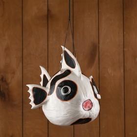 Сувенир из кокоса 'Рыбка-панда' подвесной 33х26х26 см Ош