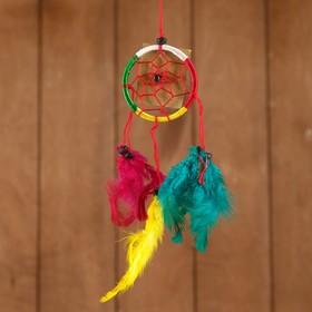 Ловец снов 'Круг' разноцветный (2) 6х0,5х20 см Ош