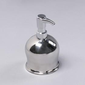 Дозатор для мыла EFOR «Практик», нержавеющая сталь