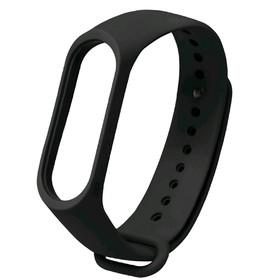 Ремешок для фитнес-браслета Xiaomi Mi Band 3/4, чёрный