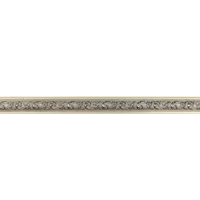 Багет Триумф Белобежевый Gold, 2500х30х12 мм