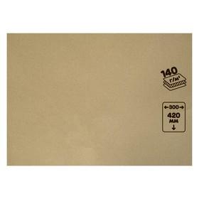 Крафт-бумага, 300 х 420 мм, 140 г/м², коричневая Ош