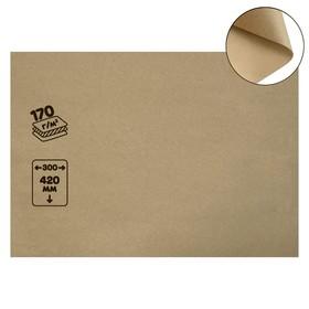 Крафт-бумага, 300 х 420 мм, 170 г/м², коричневая Ош