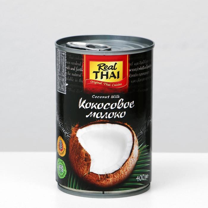 Кокосовое молоко REAL THAI, 85 %, 400 мл