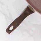 Сковорода-гриль Wilma cappuccino granite, 28×28 см - Фото 4