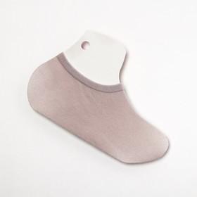Носки-подследники, цвет серый, размер 36-40