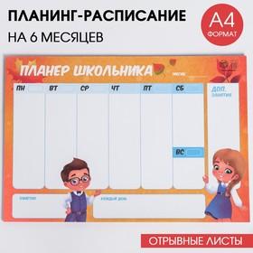 Планинг-расписание 'Школа', 30 листов Ош