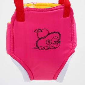 Прыгунки №1 «Ежик», цвет розовый  (прыгунки, качели, тарзанка) Ош