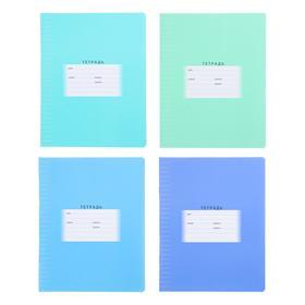 Тетрадь 12 листов в линейку, обложка мелованный картон, МИКС