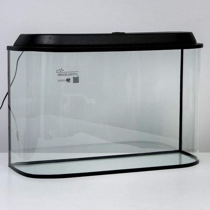 """Аквариум """"Лагуна"""", 130 л, черный 83х33х50 см"""