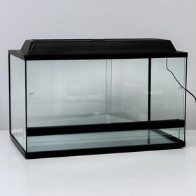 Террариум с раздвижными дверцами 112 л, 70х40х40 см Ош