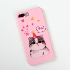 Наклейки на телефон «Котик» 8 х 14 см