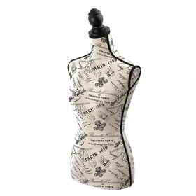 Манекен портновский, женский, 86*65*88, H=72см, плечи 39 см, цвет молочный Ош