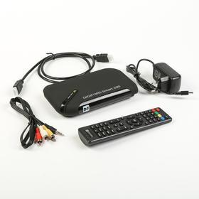 Приставка Смарт ТВ Digifors Smart 200, 1Гб, 8Гб, Android, FullHD, DVB-Т2, Wi-Fi, HDMI,черная