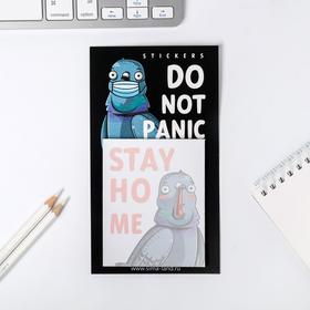 Блок бумаги для записи на магните Do not panic, 30 листов Ош