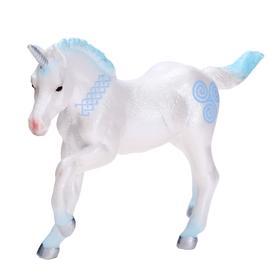 Фигурка «Жеребёнок единорога», цвет голубой
