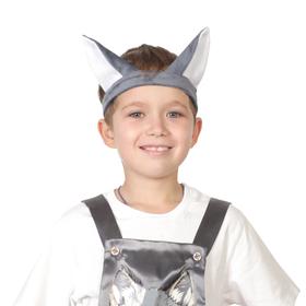 Ободок с ушами «Волчонок» Ош
