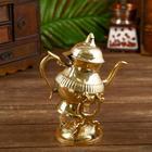 """Чайник на горелке латунь """"Империя"""" 19х12,5х20 см"""