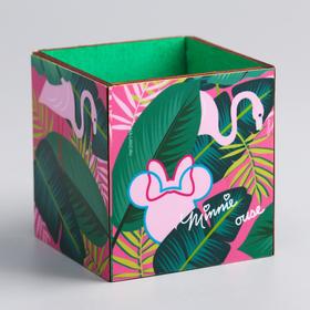 Органайзер для канцелярии 'Минни с фламинго', Минни Маус, 65 х 70 х 65 мм Ош