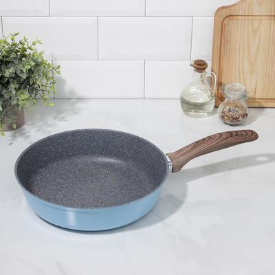 Сковорода Casta Color, d=26 см, цвет голубой