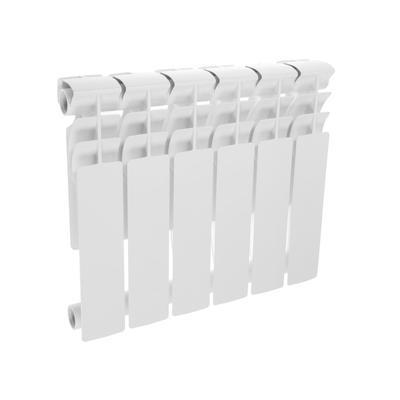 Радиатор биметаллический Oasis, 350 х 80 мм, 6 секций
