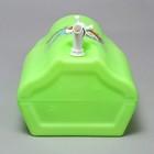 Канистра-умывальник пищевой, 10 л, зелёный - Фото 5