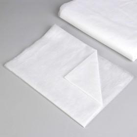 Простыня одноразовая, плотность 17 г/м2, SS, 70 × 200 см, цвет белый