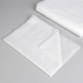 Простыня одноразовая, плотность 20 г/м2, SMS, 140 × 200 см, цвет белый