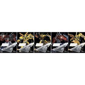 Тетрадь 18 листов в линейку Transformers, обложка мелованный картон, двойной УФ-лак, тиснение фольгой, блок офсет, МИКС