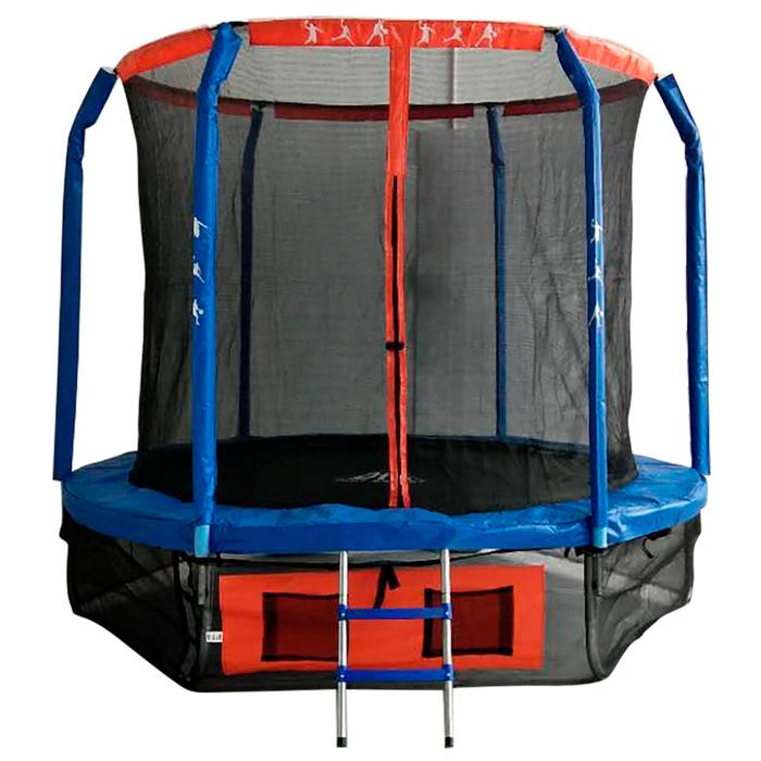 Батут DFC JUMP BASKET, d=305 cм, с внутренней защитной сеткой и лестницей