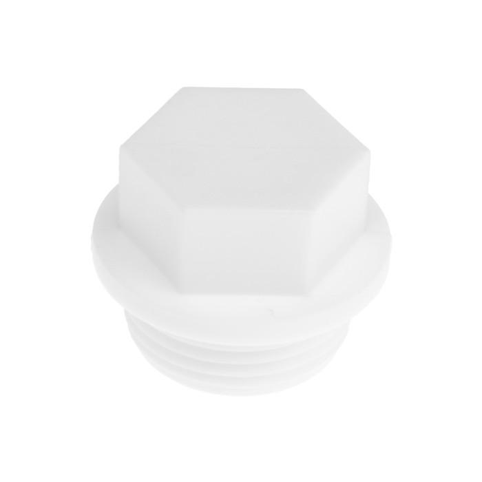 Заглушка полипропиленовая VALFEX PRO, резьбовая, 25 мм х 3/4