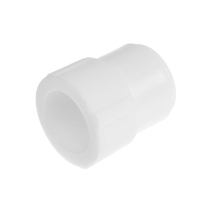 Муфта переходная VALFEX PRO, полипропиленовая, d=25 х 20 мм, внутренняя/наружная