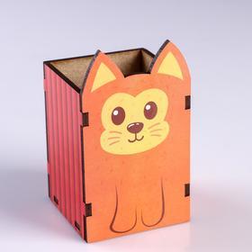Подставка для карандашей 'Рыжий котик' Ош