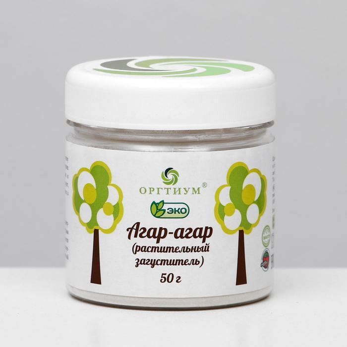 Агар-агар, растительный загуститель, 50 г