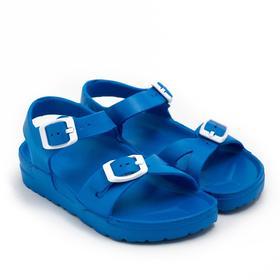 Сандалии детские, цвет голубой, размер 24 Ош