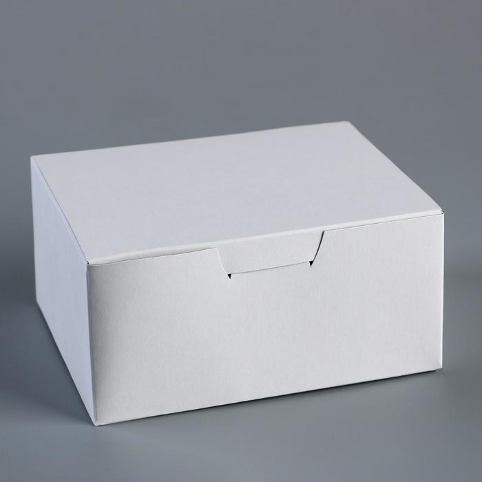 Коробка самосборная Белый 14,5 х 11,5 х 7см