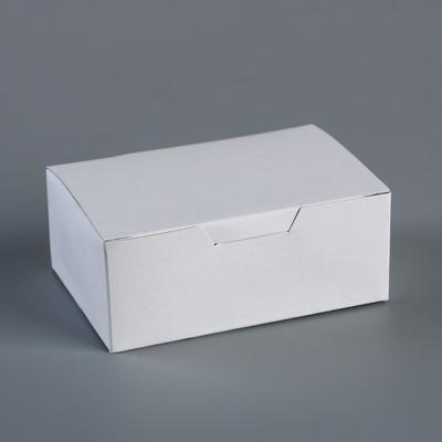 "Коробка самосборная ""Белый"" 11,5 х 7,5 х 4,5 см"