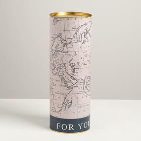 Тубус под бутылку For you, 12 х 34 см